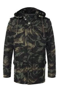 Куртка с капюшоном Alexander McQueen