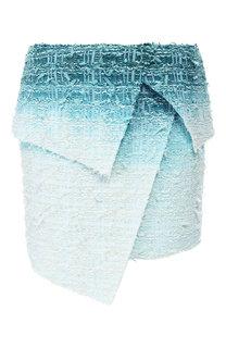 Буклированная юбка Balmain