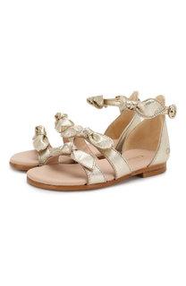 Кожаные сандалии Chloé