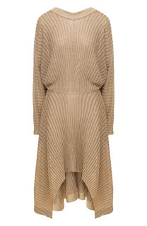 Платье из вискозы с люрексом Chloé
