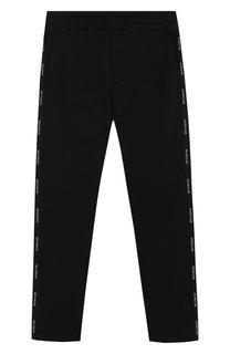 Хлопковые брюки Moncler Enfant