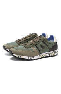 Комбинированные кроссовки Eric Premiata