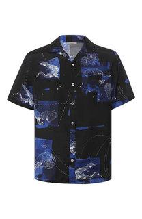 Рубашка из вискозы Lanvin