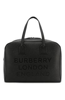 Кожаная дорожная сумка Burberry