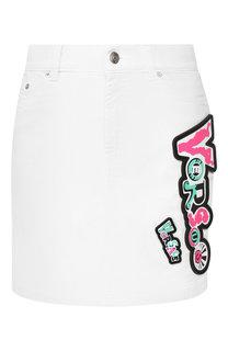 Джинсовая юбка Versus Versace
