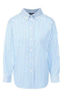 Хлопковая рубашка Emporio Armani