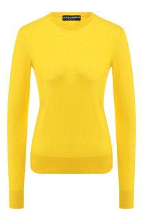 Пуловер из смеси кашемира и шелка Dolce & Gabbana