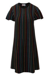 Платье в полоску REDVALENTINO