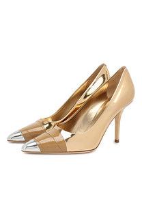 Кожаные туфли Burberry