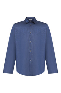 Домашняя сорочка из смеси льна и хлопка Zimmerli
