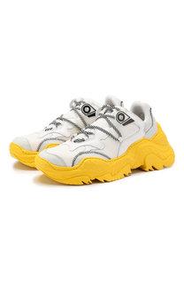 Комбинированные кроссовки No. 21