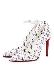 Кожаные туфли Fendi
