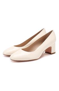 Кожаные туфли Mary Ann Stuart Weitzman