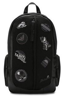 Текстильный рюкзак Emporio Armani