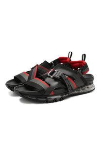 Комбинированные сандалии Fendi