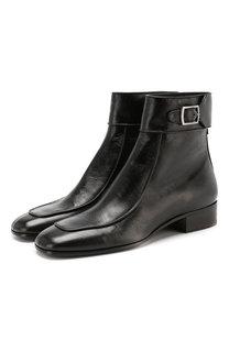 Кожаные ботинки Miles Saint Laurent