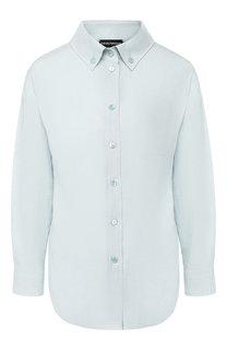 Льняная рубашка Emporio Armani