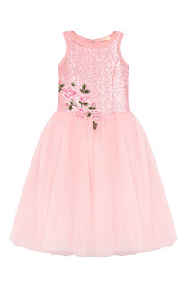 Платье-миди Monnalisa