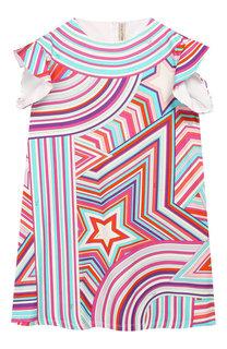 Мини-платье из вискозы Emilio Pucci