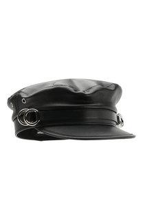 Кожаная кепка Dsquared2