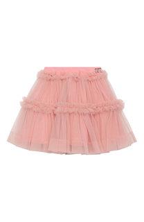Хлопковая юбка Fendi