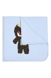 Хлопковое одеяло Fendi