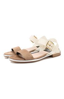 Комбинированные сандалии Premiata