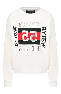 Хлопковый пуловер 5PREVIEW