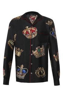 Шелковая сорочка Dolce & Gabbana
