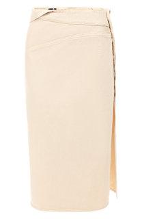 Джинсовая юбка Jacquemus
