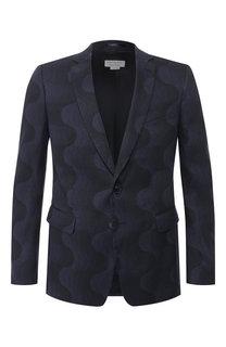 Пиджак из смеси льна и хлопка Dries Van Noten
