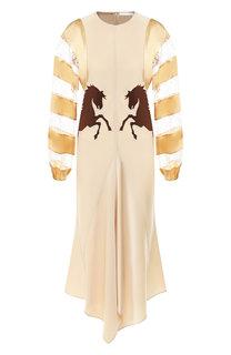 Платье-миди Chloé