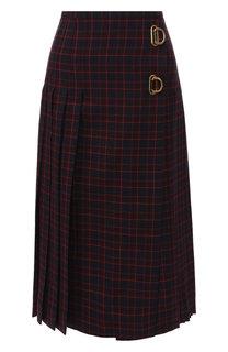 Шерстяная юбка Burberry