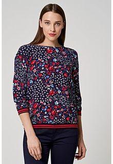 Блузка с цветочным принтом S.Oliver