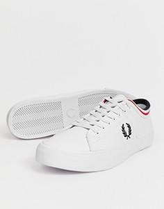 Белые кожаные кроссовки Fred Perry Kendrick - Белый