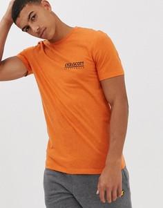 Оранжевая футболка с логотипом Lyle & Scott Fitness - Оранжевый