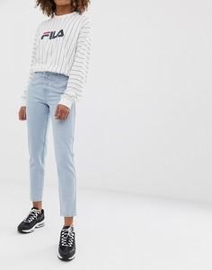 Светлые джинсы в винтажном стиле с двойной кокеткой ASOS DESIGN Ritson rigid - Синий