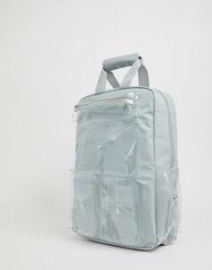 Серый рюкзак с прозрачными карманами SVNX - Серый 7X