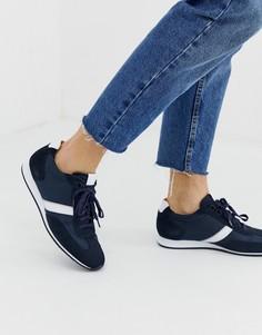 Темно-синие кроссовки BOSS Orland Lowp - Темно-синий