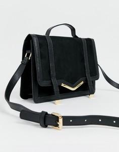 Портфель ASOS DESIGN - Черный