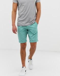 Синие узкие шорты чиносы Esprit - Синий