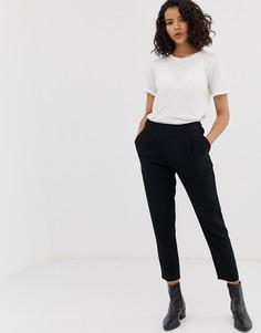 Мягкие брюки AllSaints - Черный