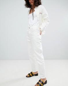Джинсы в винтажном стиле Uncivilised - Кремовый