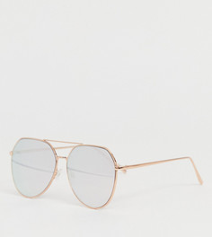 Солнцезащитные зеркальные очки-авиаторы ALDO - Золотой