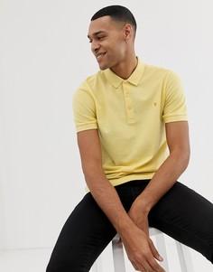 Желтое поло Farah Blaney - Желтый