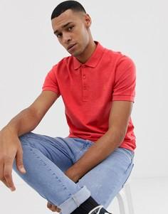 Поло красного цвета Farah Blaney - Красный