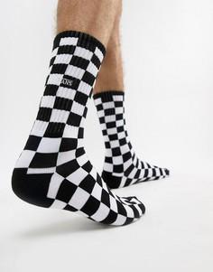 Набор из 1 пар носков в шахматную клетку Vans - Черный