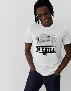 Белая футболка с принтом Levis Peanuts N Chill - Белый Levis®