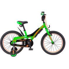 Трёхколесный велосипед Stels Pilot-180 18 (V010) зелёный/оранжевый