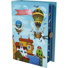 Коробка подарочная Феникс-презент Дирижабли в лето, размер S